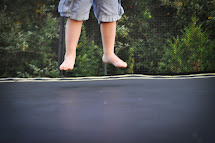 Barefoot On Trampoline