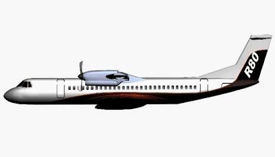 Pesawat R-80. ZonaAero