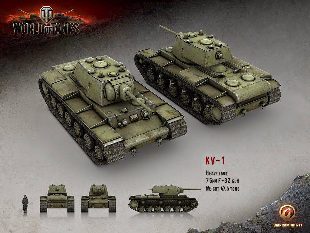 World of Tanks KV-1