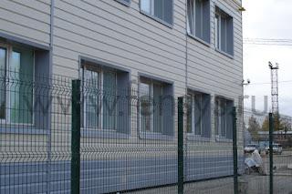 Забор металлический сварной Fensys. Фото 1