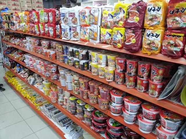 Hàn Quốc quốc gia tiêu thụ mì gói đứng đầu thế giới