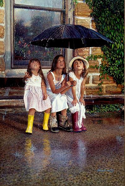 Steve Hanks, children paintings