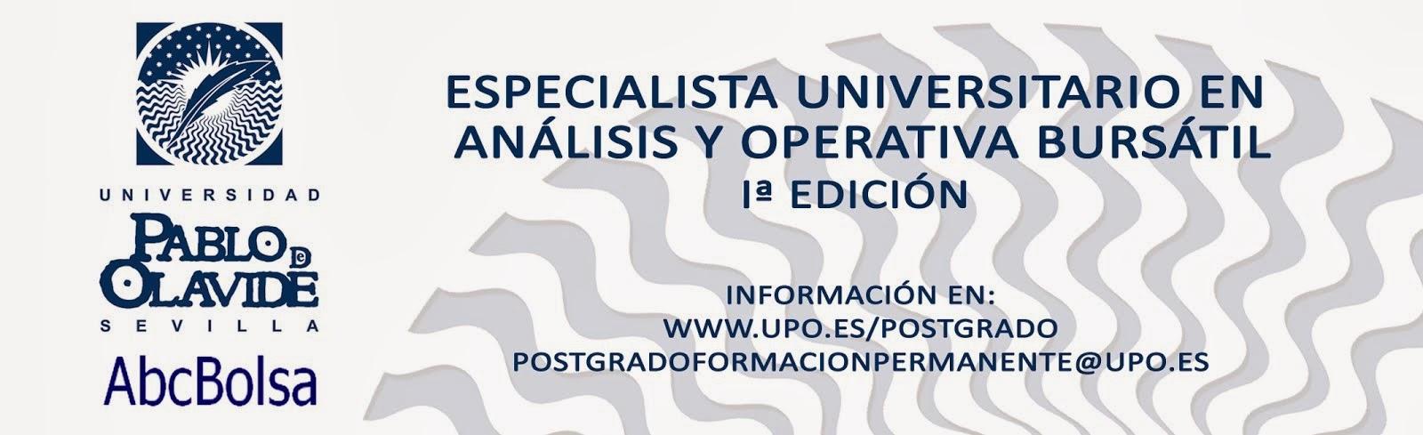 Curso Especialista Universitario Bolsa