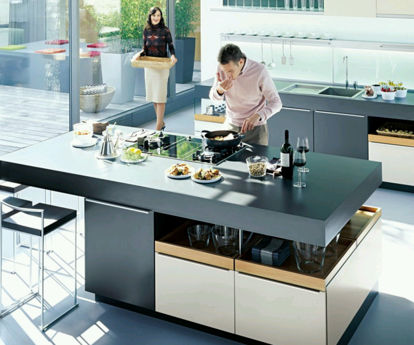Attirant Modern Kitchen Designs Ideas.