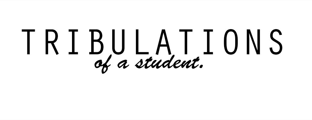 La vie (palpitante) d'une étudiante