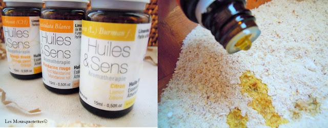 Les huiles essentielles - Les Mousquetettes©