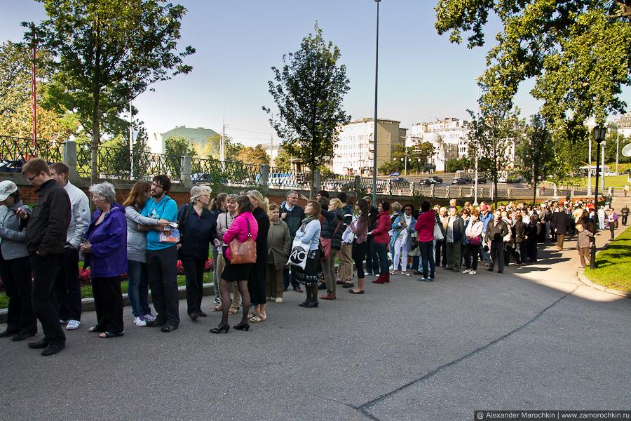 Очередь в Кремль | A queue to the Kremlin