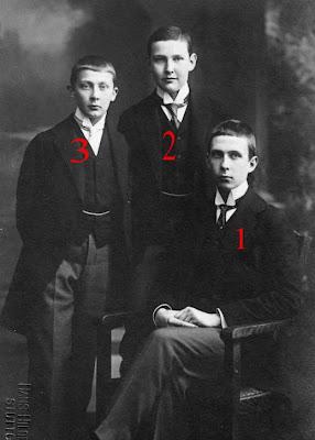 Philipp Albrecht, Albrecht Eugen et Carl Alexander de Wurtemberg/von Württemberg
