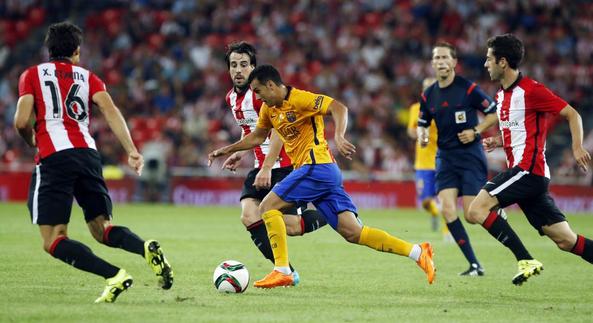 Athletic Bilbao Sikat Barcelona 4-0Final Piala Super Spanyol leg 1
