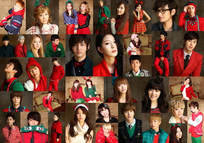 "SM TOWN Yeni Y�l Alb�m�nde Super Junior�un ""Santa U Are The One"" �ark�s�na Klip Geldi"