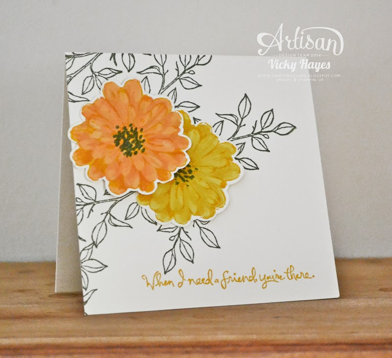 Choose Happiness, one of the Stampin' Up stamp sets, card stock, inks on special offer - available to buy online today!