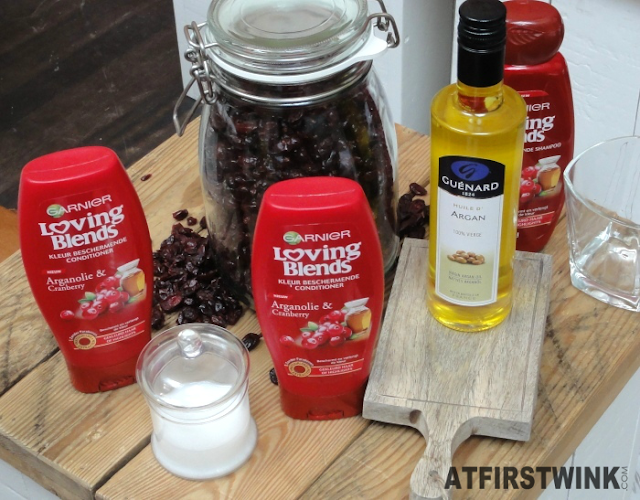 Garnier Loving Blends argan oil & Cranberry