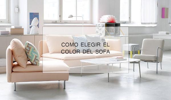 Crees que acertar as al elegir el color de tu sof decoraci n - Como elegir sofa ...