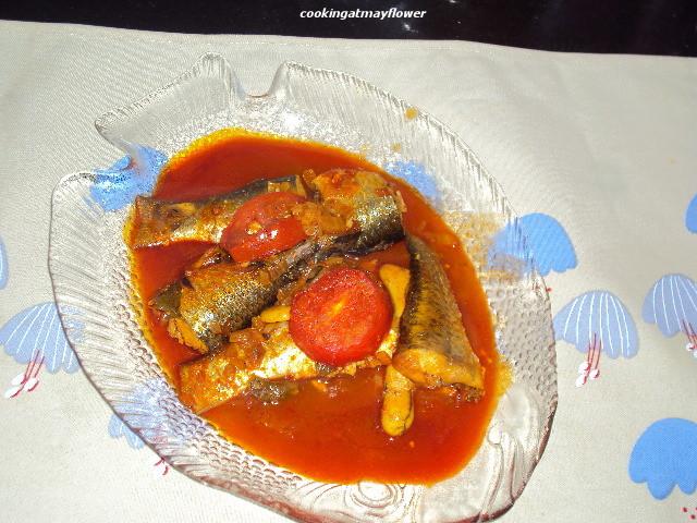 Cooking at mayflower mullet kanambu fish in tomato for Mullet fish recipe