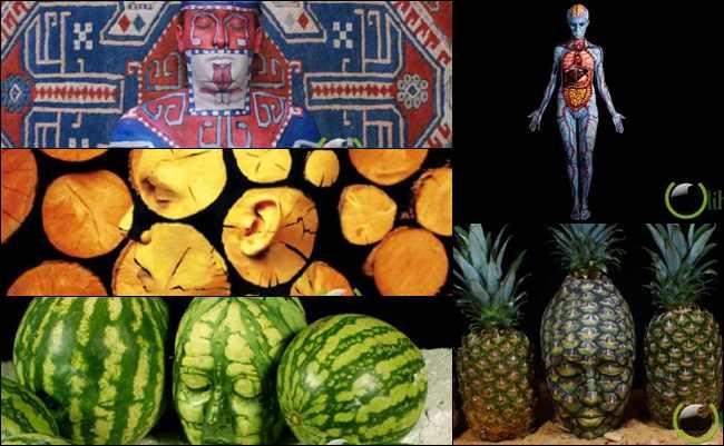 10 Karya Seni Tubuh yang paling Menakjubkan