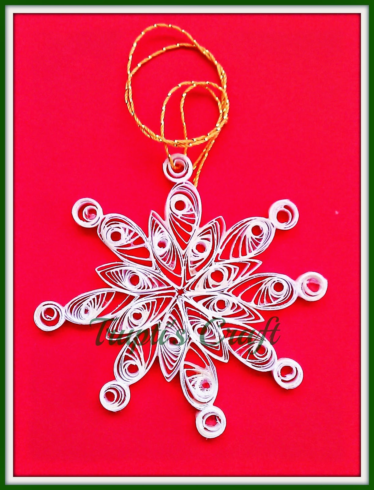 Trupti's Craft: Paper Quilling Christmas Ornaments - photo#23