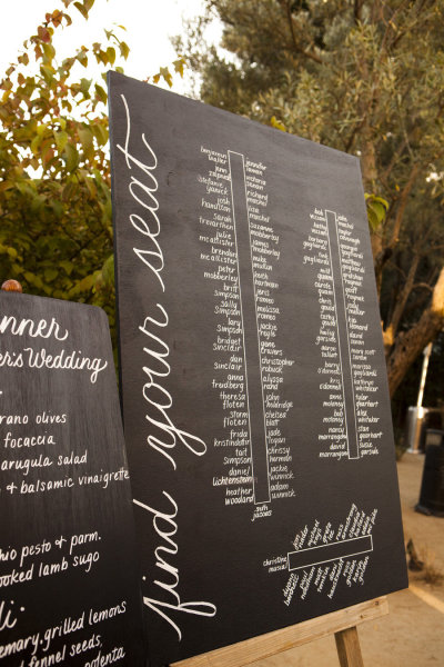traditional or unique whatever suites your event Make your seating chart