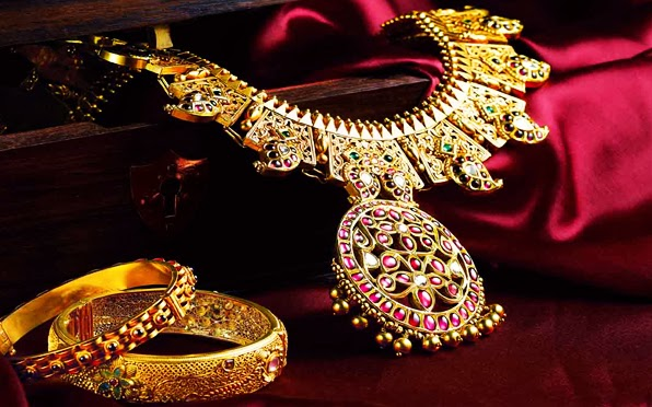 Indian Bridal Jewelry Sets 2014 By Kalyan Jewelers For Women And Girls