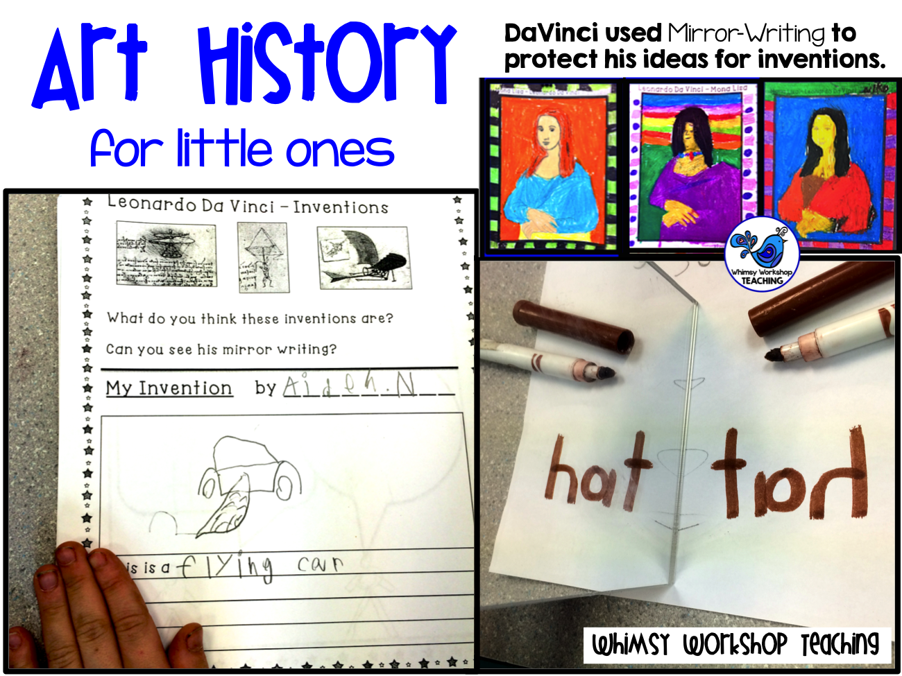 Art History for Little Ones 10 Lessons with teacher scripts!