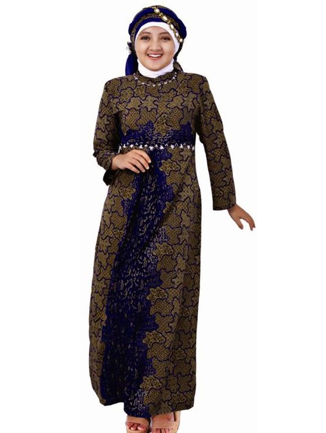 model baju gamis batik terbaru trend 2014 tattoo design bild