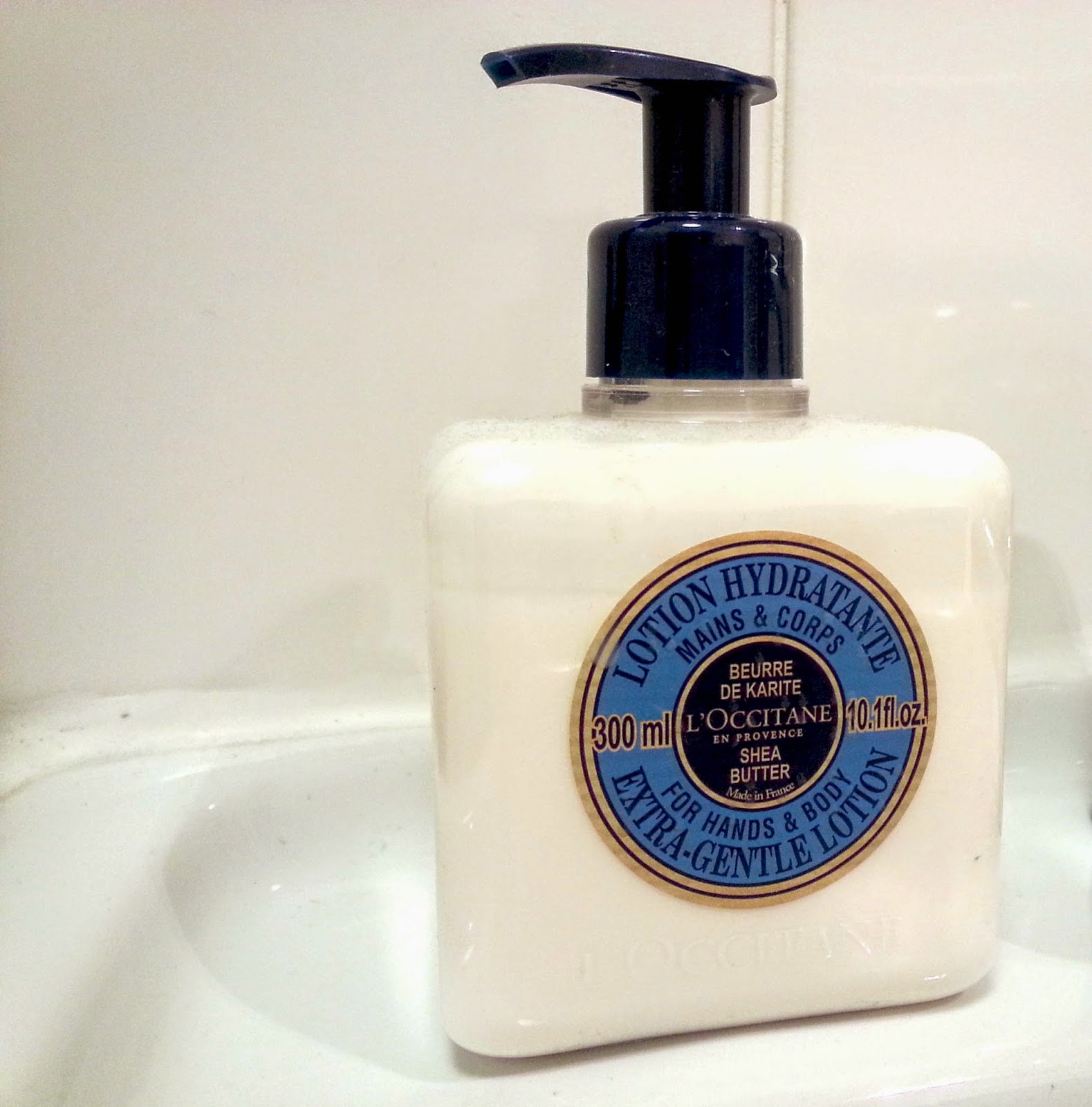 L'Occitane Extra Gentle Shea Butter Lotion For Hands & Body Review