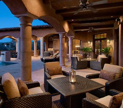 Fotos de terrazas terrazas y jardines terrazas de - Terrazas de casas ...