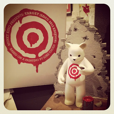 First Look: San Diego Comic-Con 2012 Exclusive Target Vinyl Figure by Luke Chueh & Munky King