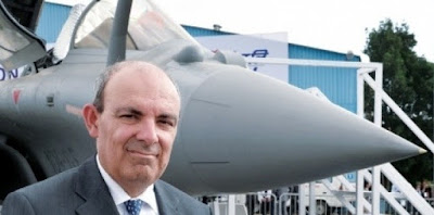 Dassault Chief With Rafale