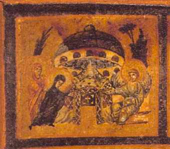 UFOS IN ANCIENT ART