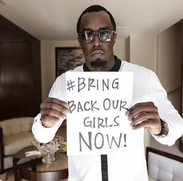 p diddy bringbackourgirls
