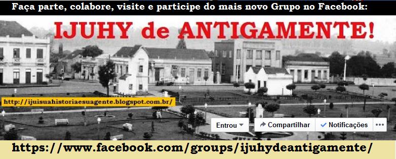 IJUHY de ANTIGAMENTE! - Faça parte deste Grupo no Facebook!