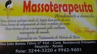 MASSOTERAPEUTA EM PAIÇANDU