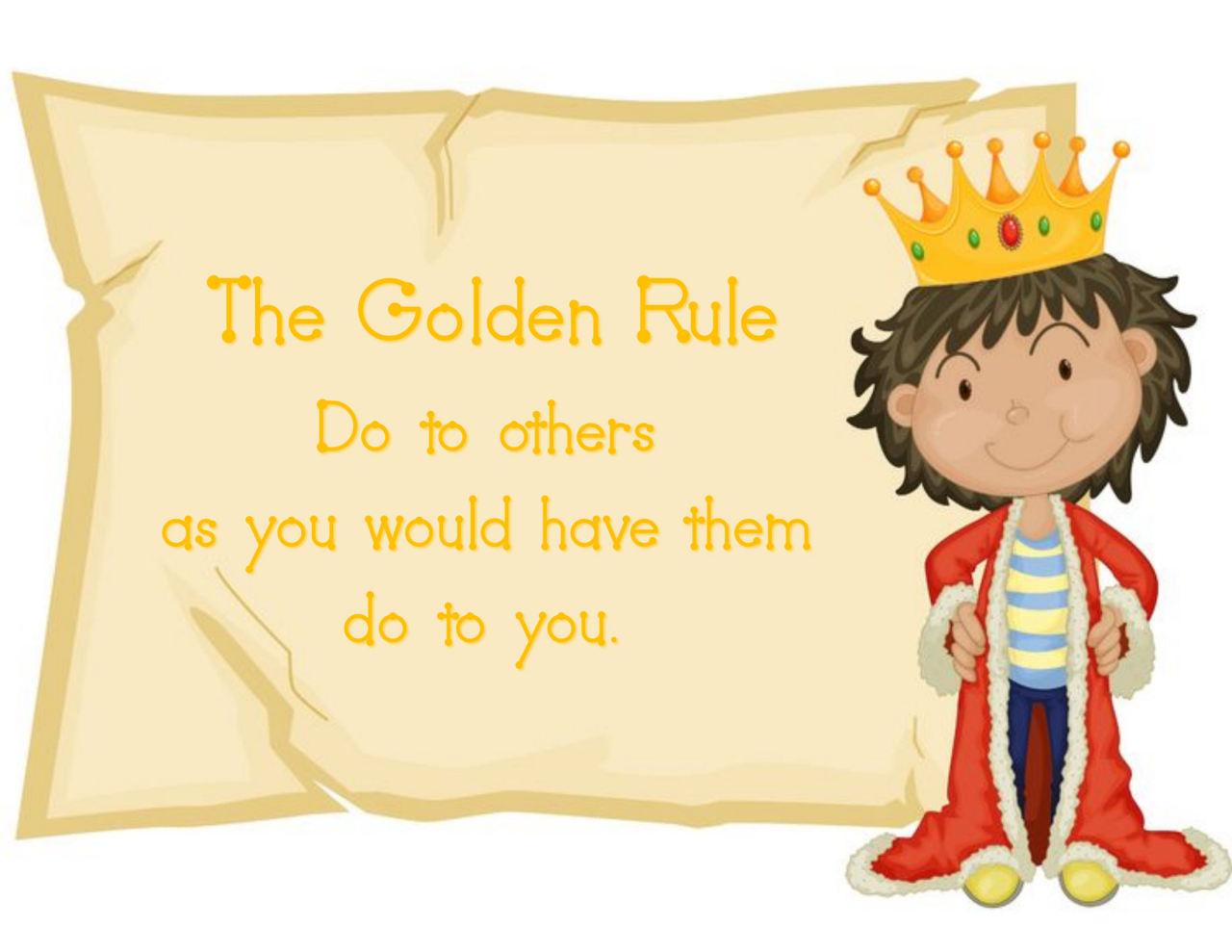 Ms toor grade 1 2 agenda september 2013 for Golden rule painting