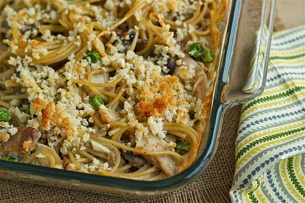 turkey tetrazzini - great for Thanksgiving leftovers