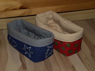 Karácsonyi textil tároló
