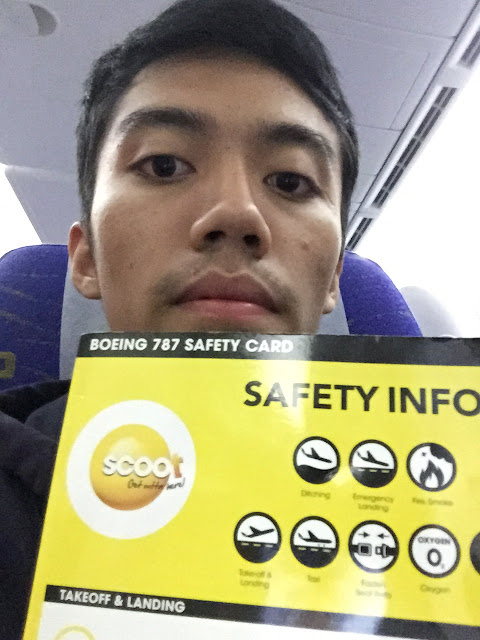 Graduation Trip Surprise Holiday for Mama to Singapore and Hong Kong scoot boeing 787-9