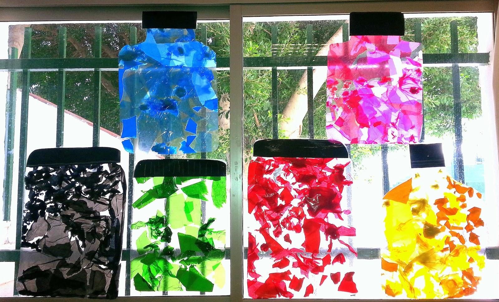 Mis cositas de infantil el monstruo de colores - Decorar con colores ...