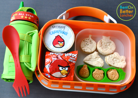 Angry Birds yubo bento school lunch