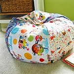 Bean Bag Chair (child-size) Tutorial