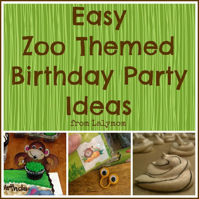 Easy Zoo Theme Birthday Party Ideas LalyMom
