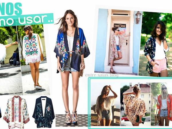 Quimonos/Kimonos, como usar!