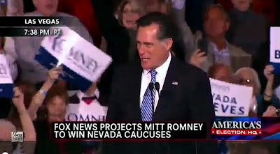 Mitt Romney Nevada Caucus 2012 Full Victory Speech VIDEO