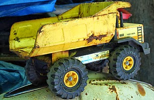 Tru Smoke Diezel naam oorsprong - Tonka toy truck