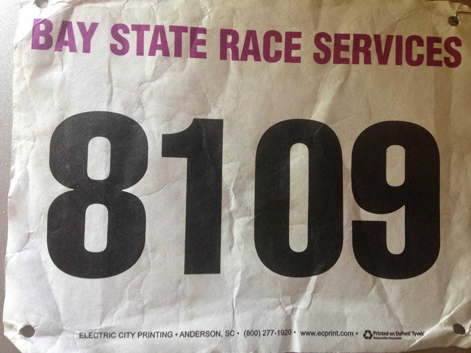 Cox Providence Rhode Race Bib 8109
