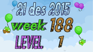 Angry Birds Friends Tournament level 1 Week 188