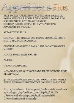 CONHEÇA A NOVA REDE SOCIAL APPARITIONS PLUS
