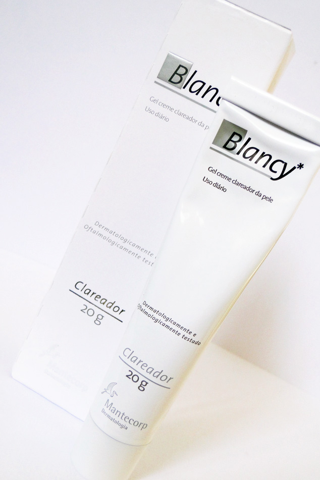 Blancy* Gel Creme Clareador da Mantecorp
