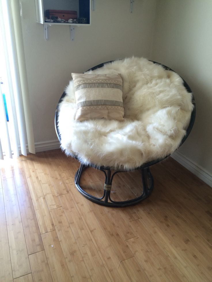 Thrifty- Fox: Papasan chair redo!