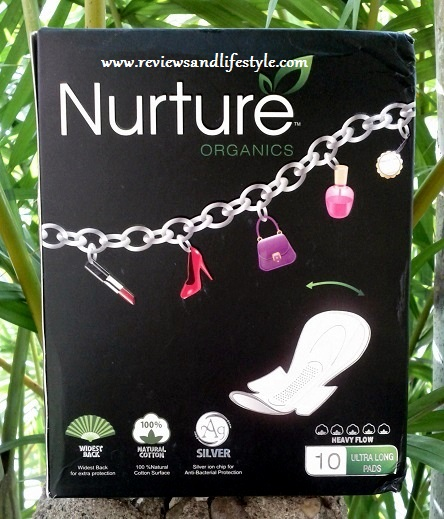 Nurture Organics 100% Natural Ultra Long Wide Back best Sanitary Napkins India