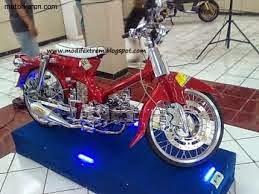 modifkasi motor honda kalong c70